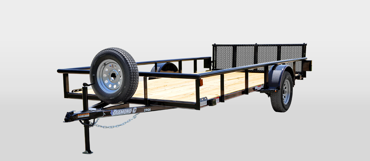 DC All-Around Single Axle Utility Trailer