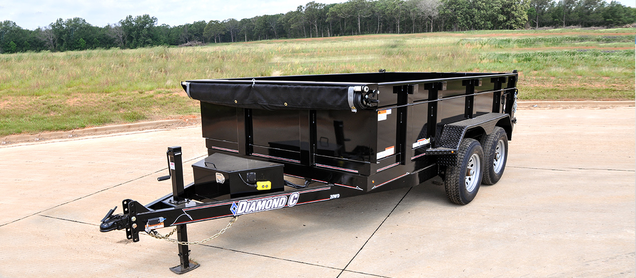 Commercial Grade Dump Trailers