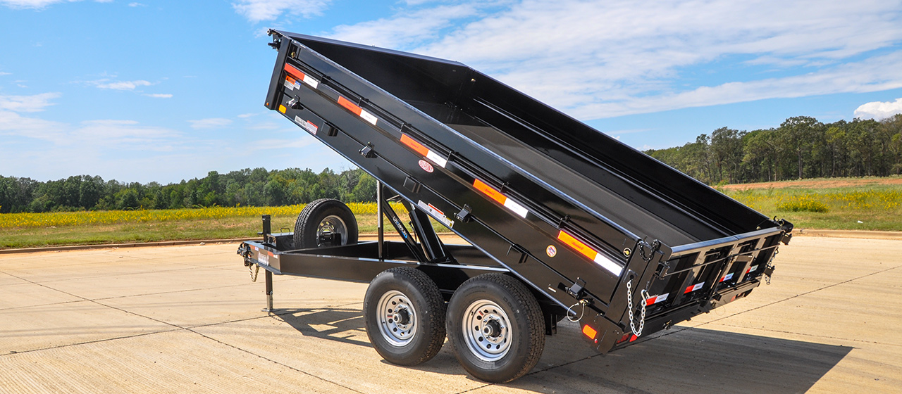 Deck-Over Dump Trailers