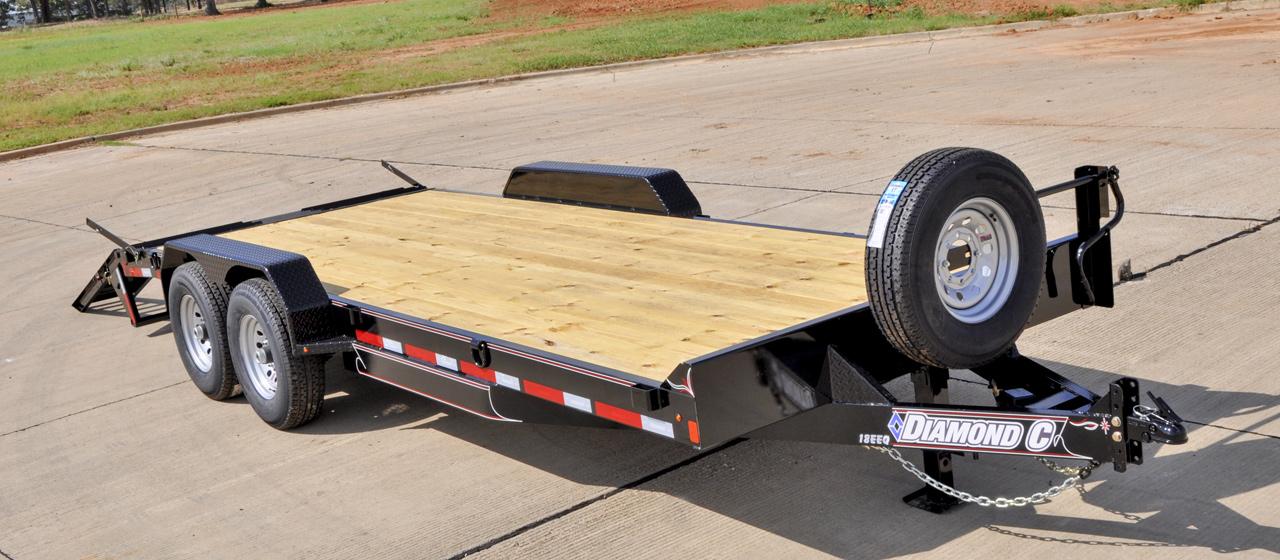 Extreme Duty Equipment Trailer- GVWR 14,000 lbs