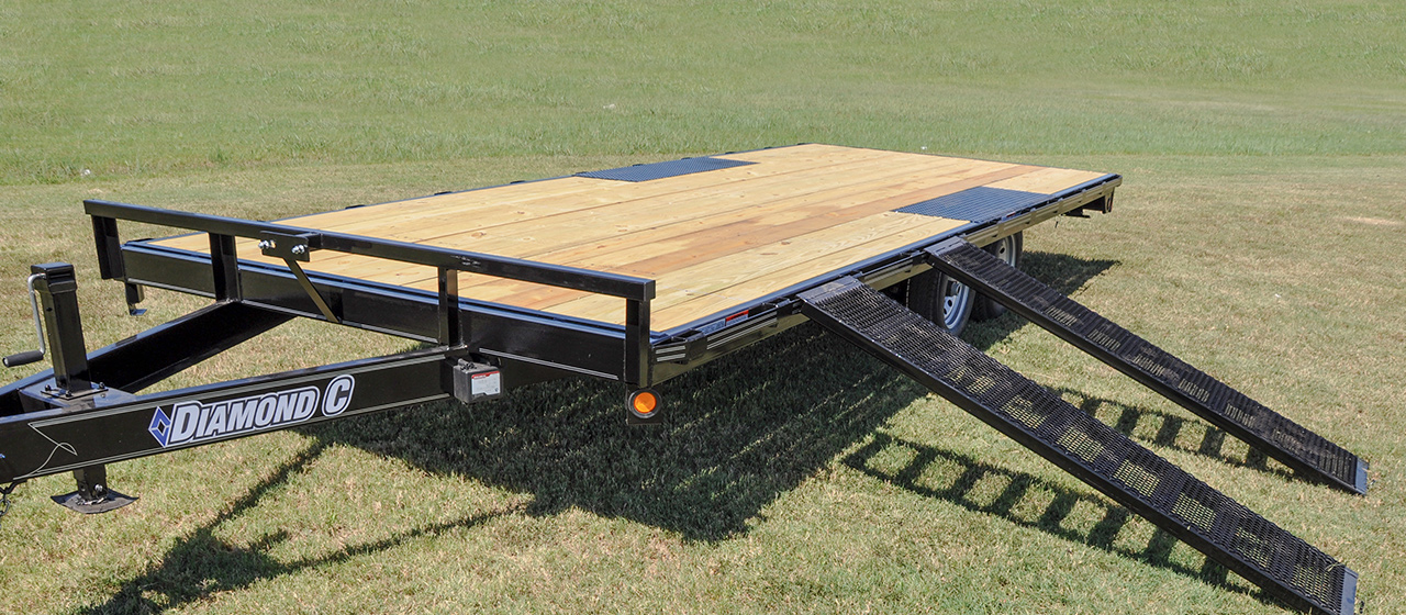 General Duty Deck Over Trailer - GVWR 7,000 lbs