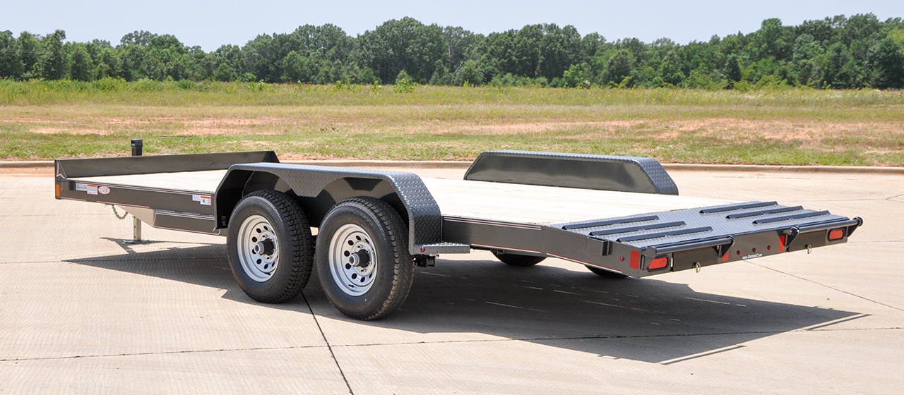 Medium Duty Equipment Trailer - GVWR 9,890lbs