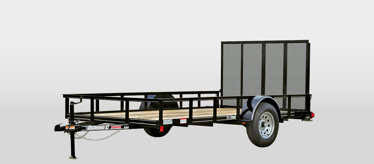 DC Ranger Single Axle Utility Trailer - 2,990 lb GVWR