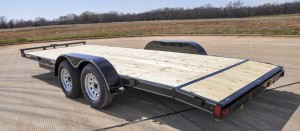 Wood Floor Flat Bed Trailers