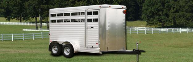 View Bumper Pull Livestock Trailers