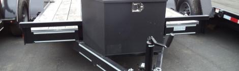 DIAMOND C 7X12 RC  RANGER WOOD FLOOR FLATBED TRAILER USED