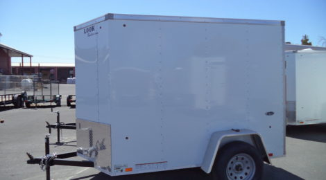 5 x 8 Look ST  V Front/Flat Top Trailer (6877)