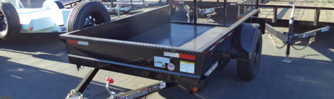 5X8 Iron Panther Utility Trailer(2624)