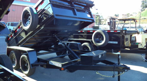 6x10 Iron Panther Dump Trailer