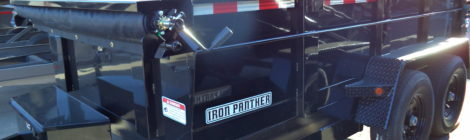 7x12 Iron Panther Dump Trailer