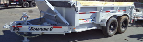 7 X 12 Diamond C Dump Trailers 24LPD