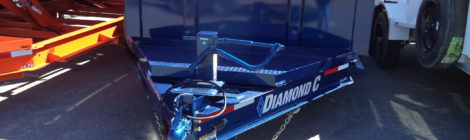 7 X 12 Diamond C Dump Trailer 24LPD (7985)