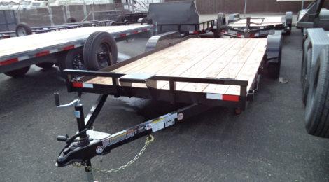 Iron Panther 7 x 18 Dovetail Car Hauler(2952)