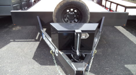 Diamond C 8.5 x 20 Deckover Trailer 52GDD (9713)