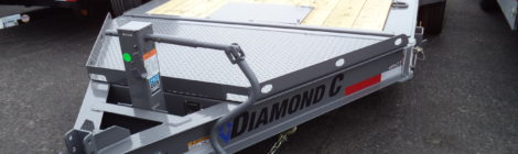 7x16 Diamond C 48HDT Trailer(9831)