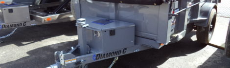 Diamond C 5x10 43ED Dump Trailer(9762)