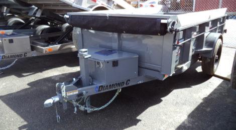 Diamond C 5x10 43ED Dump Trailer(9762)