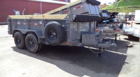 Diamond C 6x12  Dump Trailer EDM252(1161)