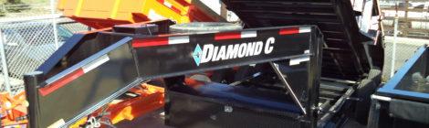 Diamond C 7x14 LPD 207 Goose-Neck Trailer(2224)