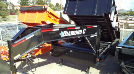 Diamond C 7x14 LPD 207 Goose-Neck Trailer(2224)
