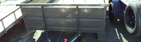 6x12 Diamond C Roustabout Trailer(2307)