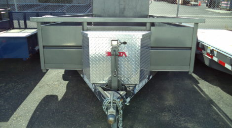 6x14 Diamond C Roustabout  Trailer USED (0285)