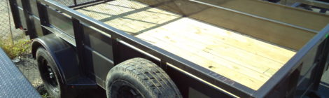 Diamond C  6x12 Roustabout Trailer(1244)