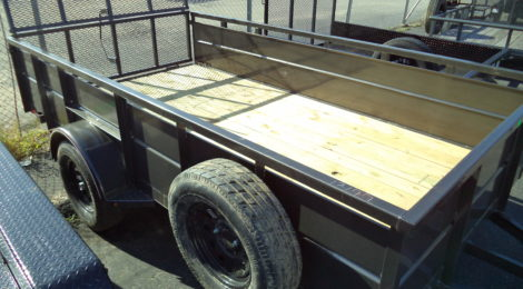 6x12 Diamond C Roustabout Trailer(1244)