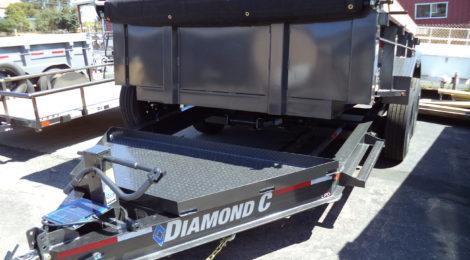 7x12 Diamond C HEAVY DUTY LOW PROFILE DUMP TRAILER(2168)