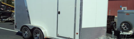 Ez Hauler 7.5 x 14 Enclosed Trailer (2085)
