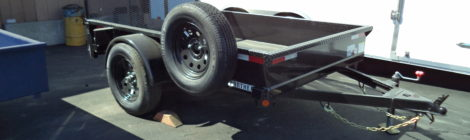 Iron Panther 5 x 8 Utility Trailer (2625)