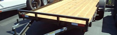 Iron Panther 7x16 Dovetail Car Hauler Trailer (3825)