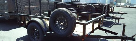 Iron Panther 5x8 Utility Trailer(3827)