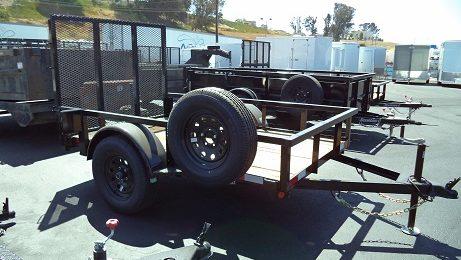 Iron Panther 5x8 Utility Trailer(3827)
