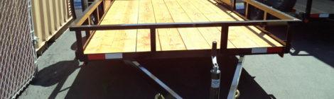 Iron Panther 6.5 x 12  3K SUT Utility Trailer(3961)