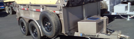 DIAMOND C 5 X 10  Dump Trailer (9425)