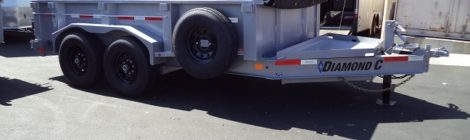 Diamond C 7x12 Dump Trailer(9557)