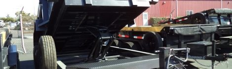 Diamond C 7x12 Dump Trailer(9558)