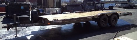 Diamond C 8X20 Mid Deck Trailer(8466)