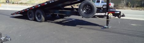 Diamond C 8.5x20 Deck Over Tilt Trailer(8577)
