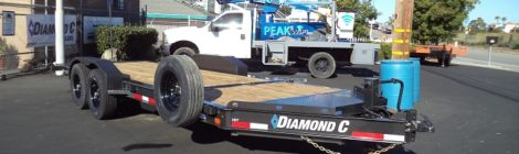Diamond C 7X20 HD Equi/Hyd Tilt Trailer(9565)